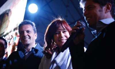 Cristina presenta Sinceramente en Malvinas Argentinas con el apoyo de Sergio Massa. La foto de Cristina junto a Massa en su primera reapirición pública juntos