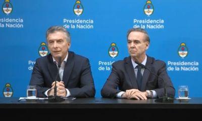 Macri evitó la autocrítica y eligió desplegar una campaña de miedo. El presidente culpó al kirchnerismo por la corrida bancaria del lunes.