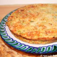 Budin de zapallo italiano / Pudding de Courgettes