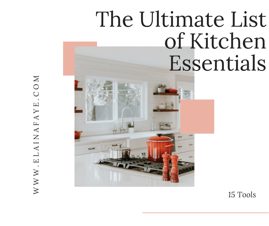 Are you getting married or moving into your own place for the first time? It's tough to know what kitchen appliances and tools you need to buy or put on your registry. Here you will find the ultimate list of kitchen essentials. Cookware, cutlery, bake ware, and appliances. You will also find gadgets that make for easy clean up.