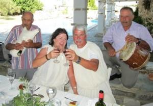 greek wedding drummer