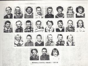 first grade class 1958