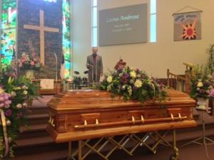 funeral singer
