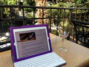 BAM write blog outside
