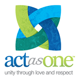 act as one logo