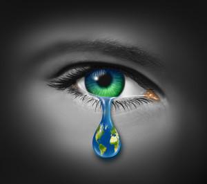 child tear world