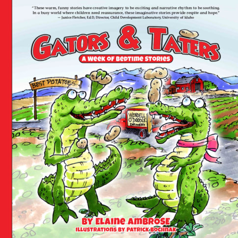 """""""Gators & Taters"""" Wins National Writing Award for Children's Fiction"""