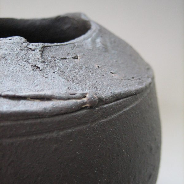 Elaine Bolt, 'Dark Metal' vessel detail