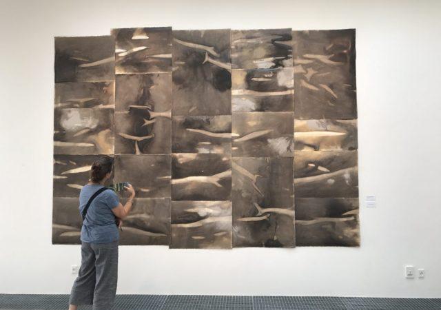 Artwork by Erna Elínbjörg Skúladóttir, at the Bornholm European Ceramic Context exhibition in 2018