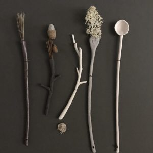 Woodland Utensils by Elaine Bolt