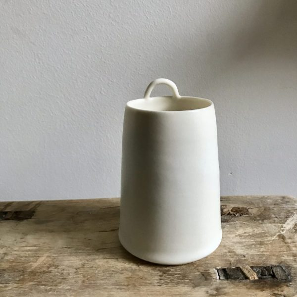 Chalk Loop vessel by Elaine Bolt