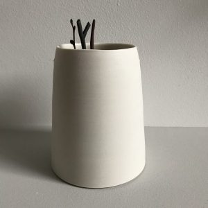 Elaine Bolt Ceramics - Chalk White Vessel