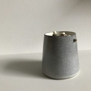 Elaine Bolt Ceramics - Stone Grey Woodland Vessel