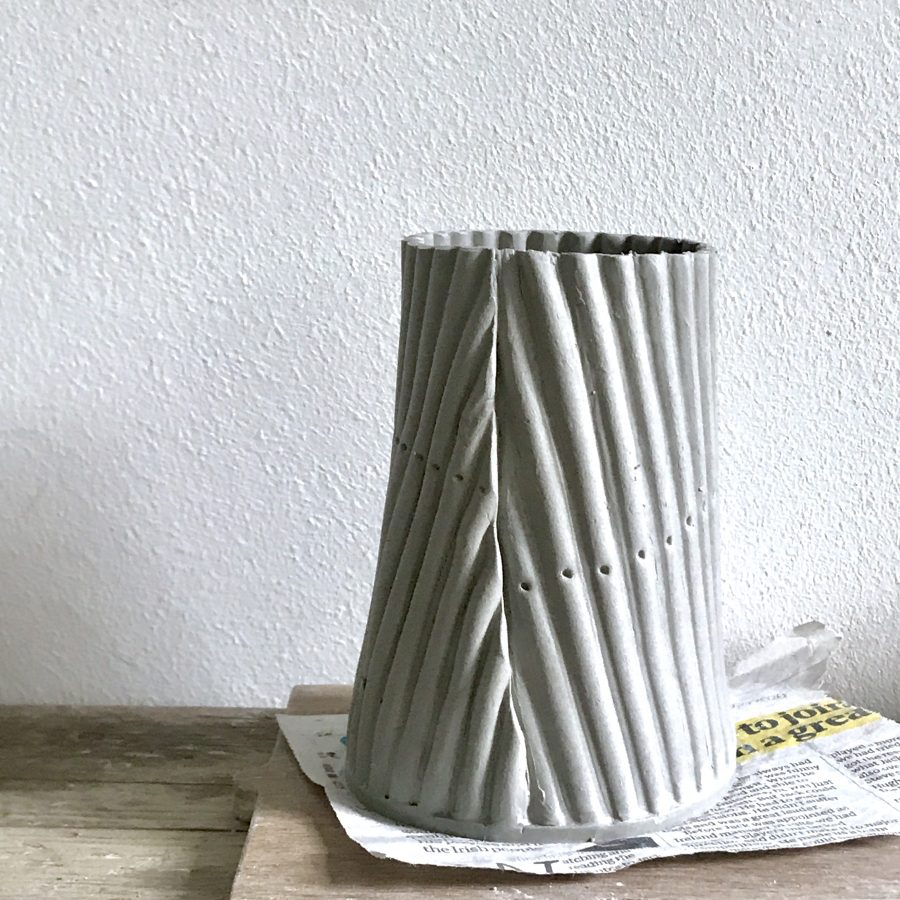 Corrugated iron vessel test