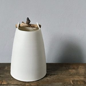 Elaine Bolt Woodland Chalk vessel Acorn