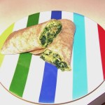 Spinach Egg Wrap