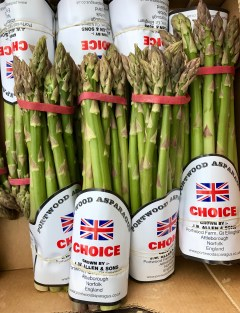 British Asparagus Season