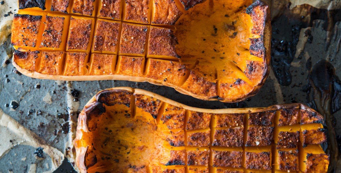 curry roasted squash