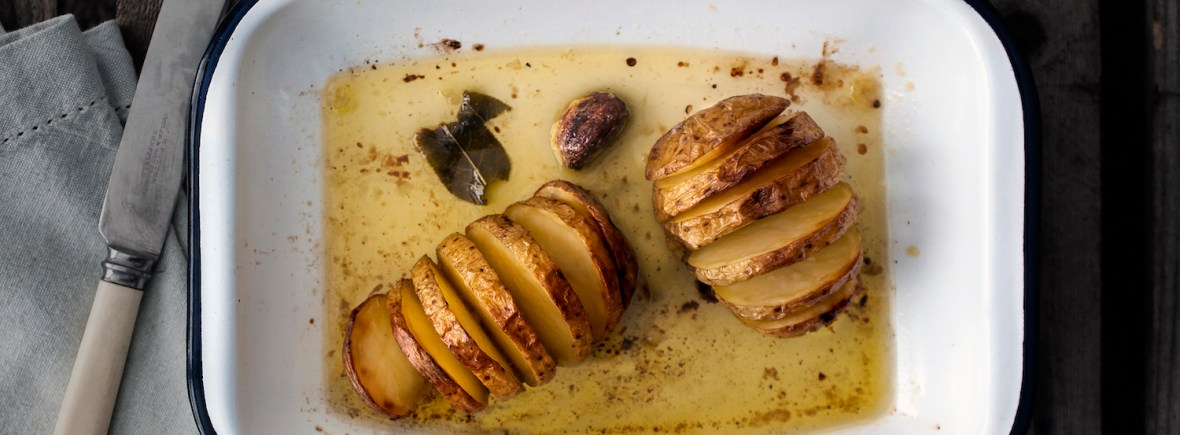Easy Hasselback Potatoes