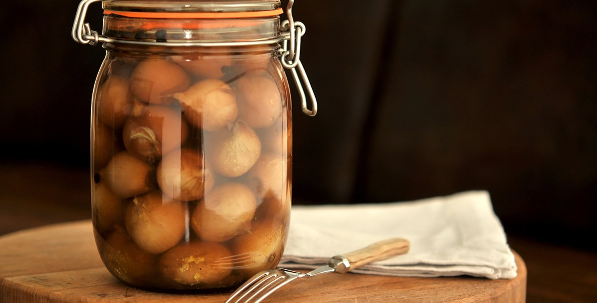 Perfect Pickled Onions