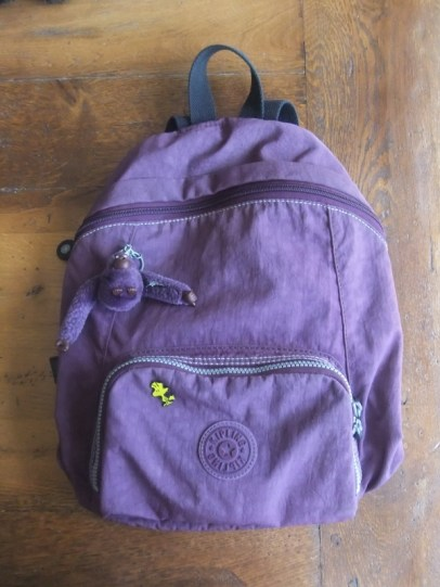 My long-serving Kipling backpack