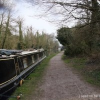 a walk along by the canal