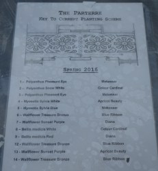 parterre planting plan