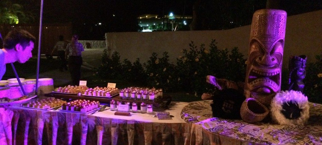 Dessert table and my brother's head, both indirectly paid for by your insurance provider.