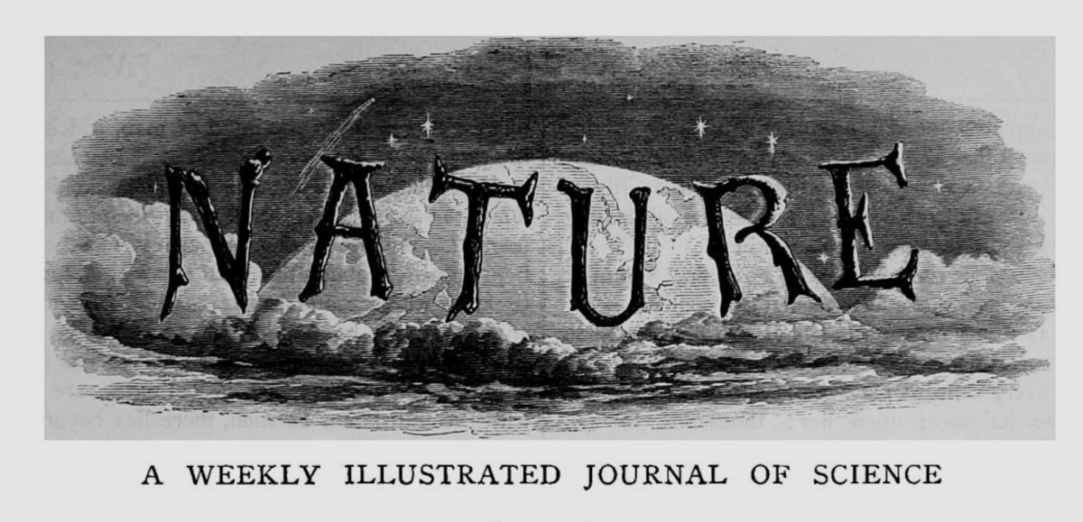 Nature, Issue 1. Nov 4, 1869. (click for full page)
