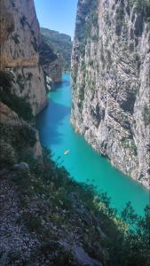Montrebei Gorge, Spain