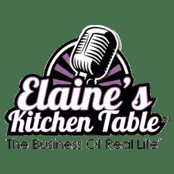 Elaine's Kitchen Table Logo