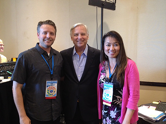 "With Jack Canfield, the author of ""Chicken Soup For The Soul"" and so much more."