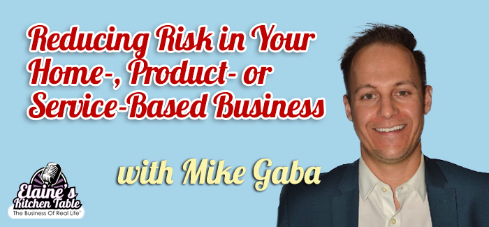 Episode 072 – Reducing Risk in Your Home-, Product- or Service-Based Business with Mike Gaba