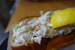 Crab Salad Roll from Boston Chowda Co.