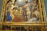 Adoration of the Magi by Gentile da Fabriano (1423)