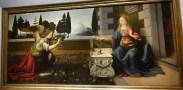 The Annunciation - Da Vinci (1472-5)