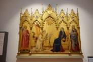 Annunciation by Simone Martini and Lippo Memmi (1333)