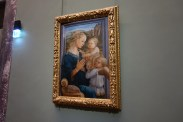 Madonna with Child and Two Angel by Filippo Lippi (1465)