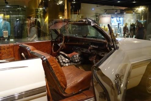 "Hank William's custom convertible ""Silver Dollar car"""