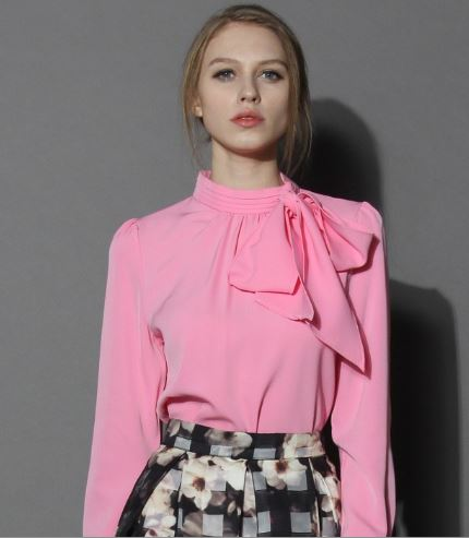 kiss me bow top in candy