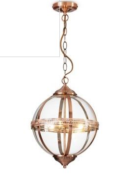 orb pendant light marks and spencer copper