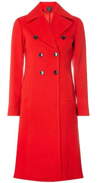 dorothy perkins red coat