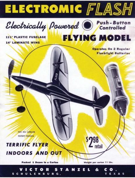 electromic flash poster