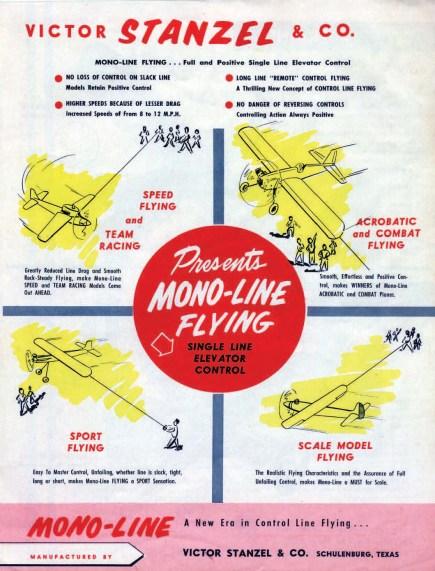 mono line airplane