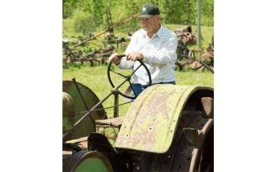 Bob's Vintage Farm Tractors Have Tales to Tell
