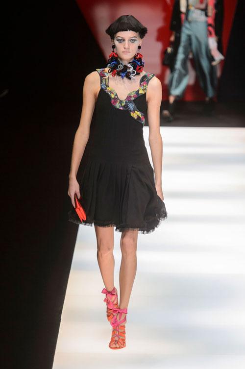 Colecția lui Giorgio Armani prezentată la Paris Fashion Week 2018 5