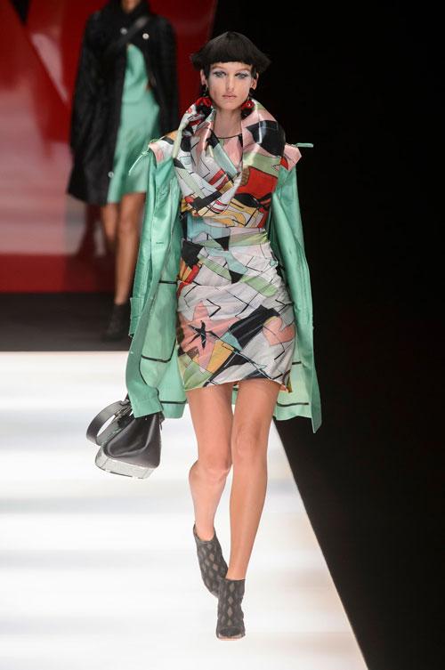 Colecția lui Giorgio Armani prezentată la Paris Fashion Week 2018 7