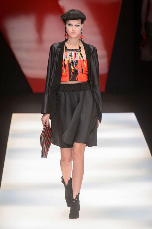 Colecția lui Giorgio Armani prezentată la Paris Fashion Week 2018 13