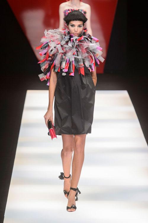 Colecția lui Giorgio Armani prezentată la Paris Fashion Week 2018 16