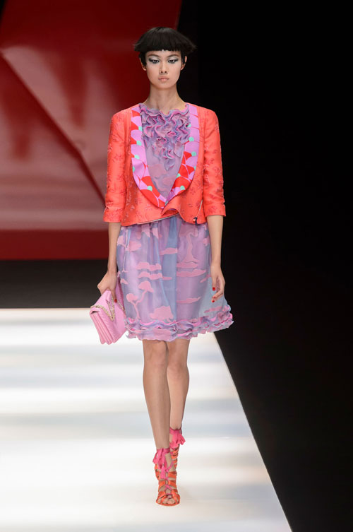 Colecția lui Giorgio Armani prezentată la Paris Fashion Week 2018 20